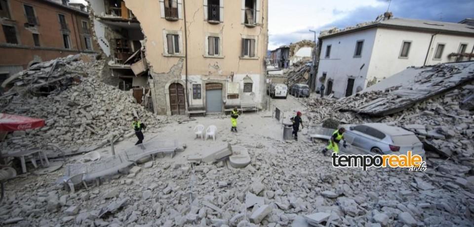 Contributo al Comune di Amatrice - Emergenza Terremoto 2016